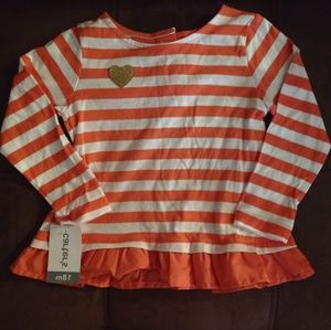 NWT Carter striped Top